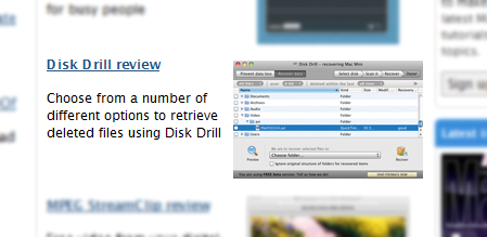 4 stars for Disk Drill by MacWorld UK