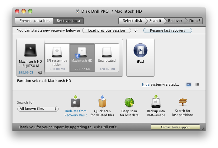 Disk Drill 1.3.118