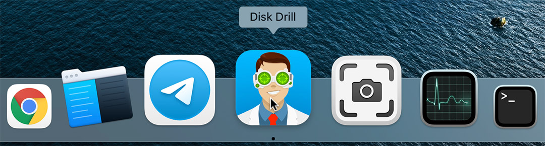Launch Disk Drill