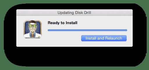 Disk Drill update