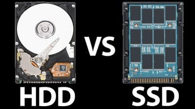 HDD and SSD drives