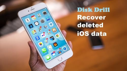 Recovering data for an iOS device