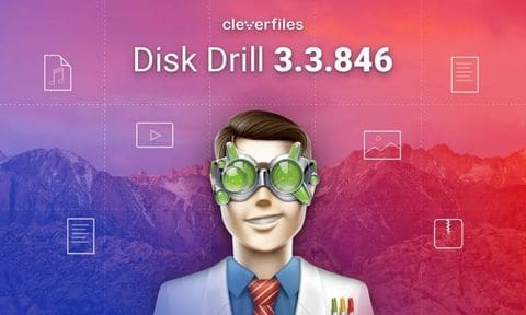 Disk Drill data recovery app