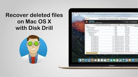 Disk Drill Recovery for Mac