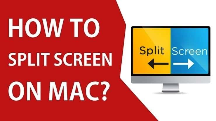 How to split screen on Mac OS X