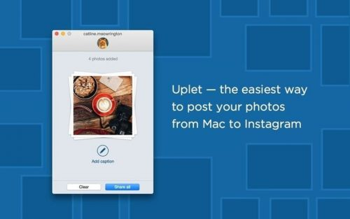 How to post & upload photos to Instagram from Mac