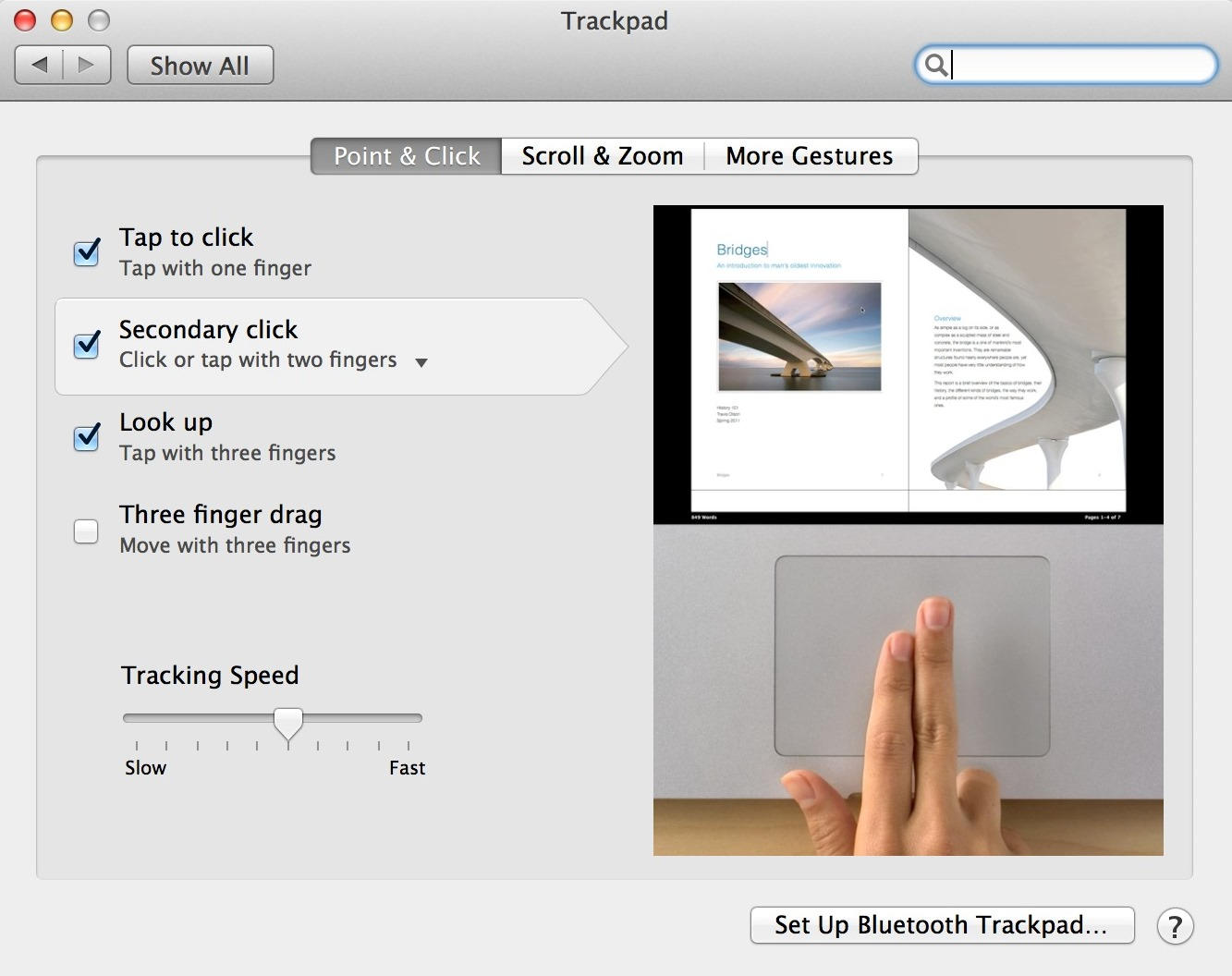 How to zoom in out on mac os x both the zoom in and the zoom out gesture can be repeated for additional zooming its also possible to zoom in and out by double tapping the trackpad with ccuart Images