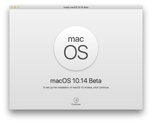 Install the Beta Version of macOS Mojave