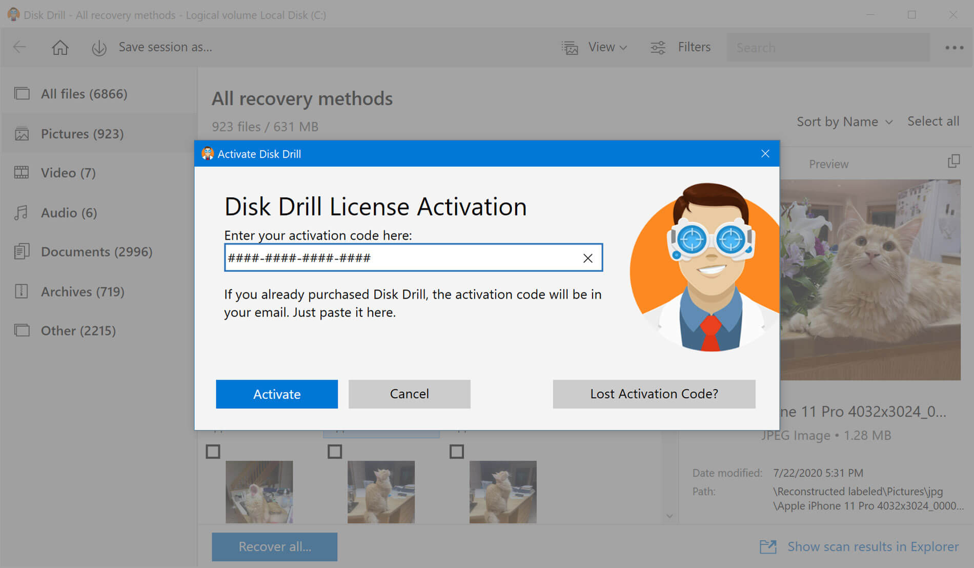 How to Upgrade from Disk Drill Basic to PRO
