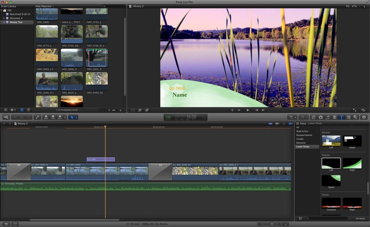 best video editor for mac os x