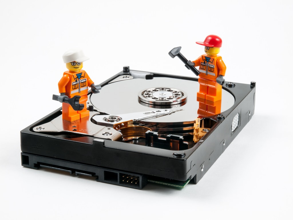 formatted-hard-drive