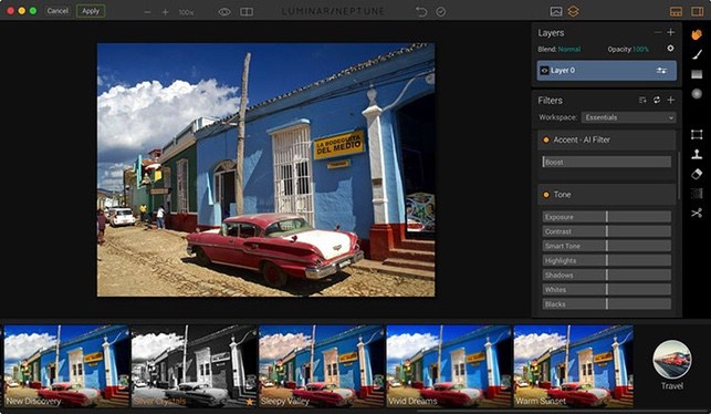 Luminar best photo editor