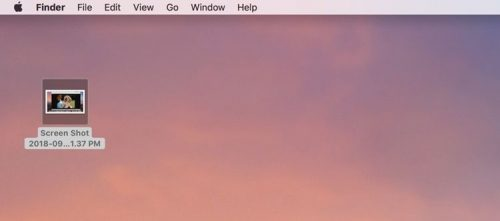 how to take a screenshot on mac os x