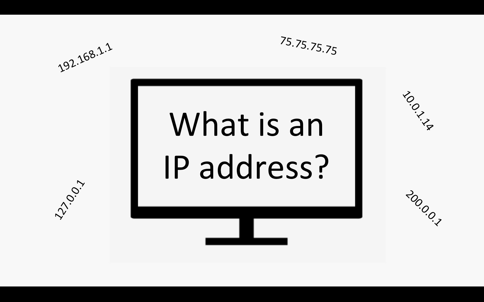 how to solve ip address