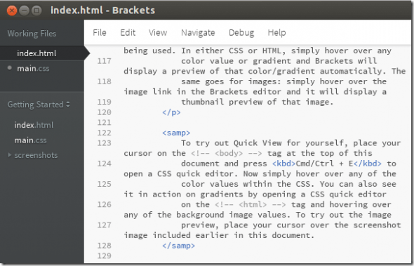top 5 editores de texto mac brackets