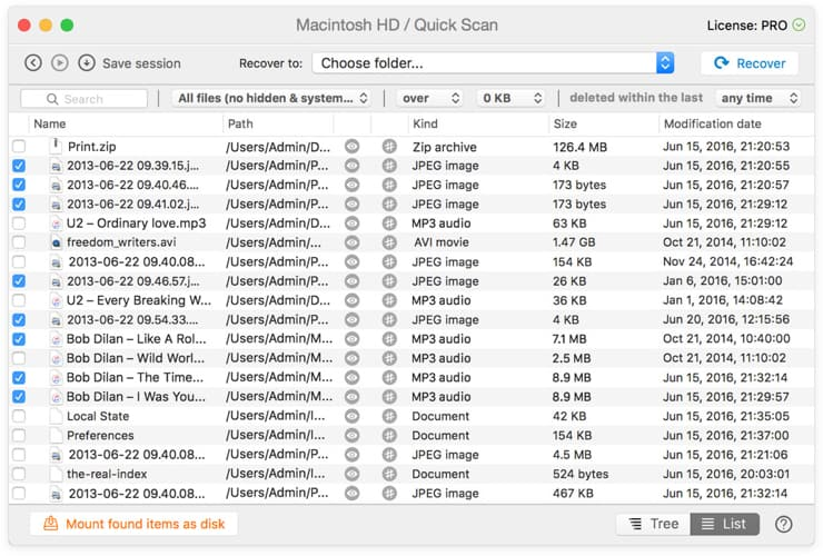 Disk Drill Mac Recover