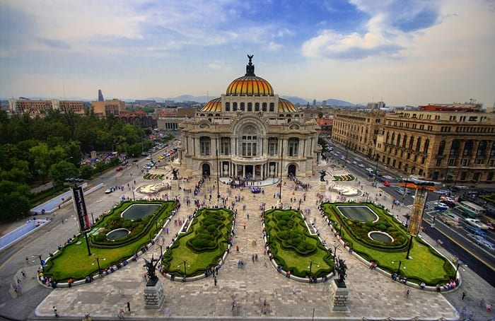 Mexico City data recovery