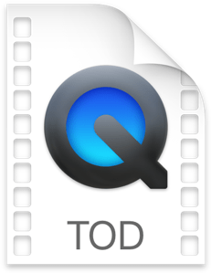 TOD file format
