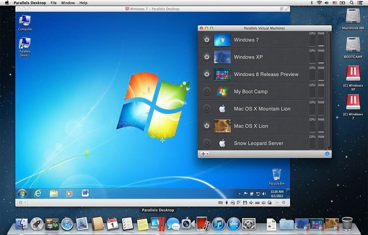 parallels for mac free