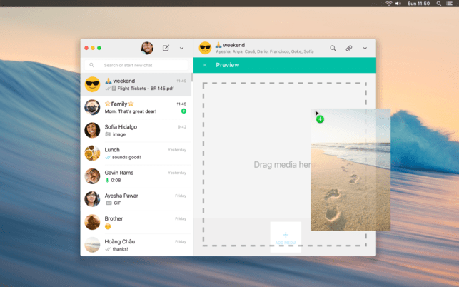 whatsapp mac app