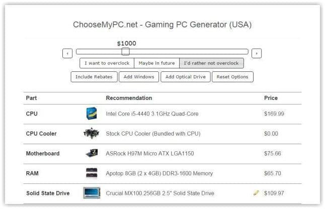 Choose My PC