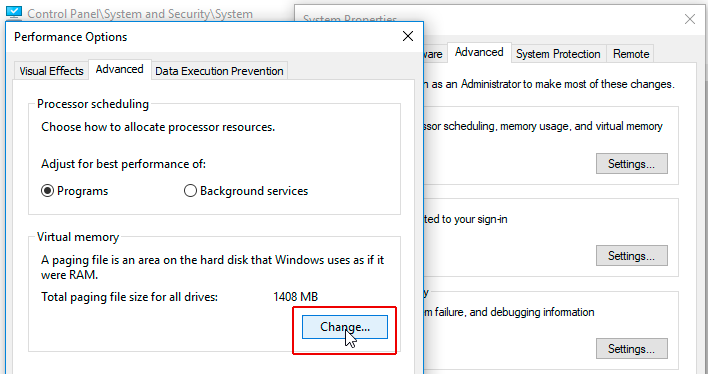 win10 high disk usage