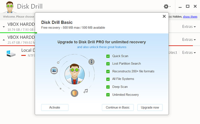 howto recovery deleted files windows 10 update