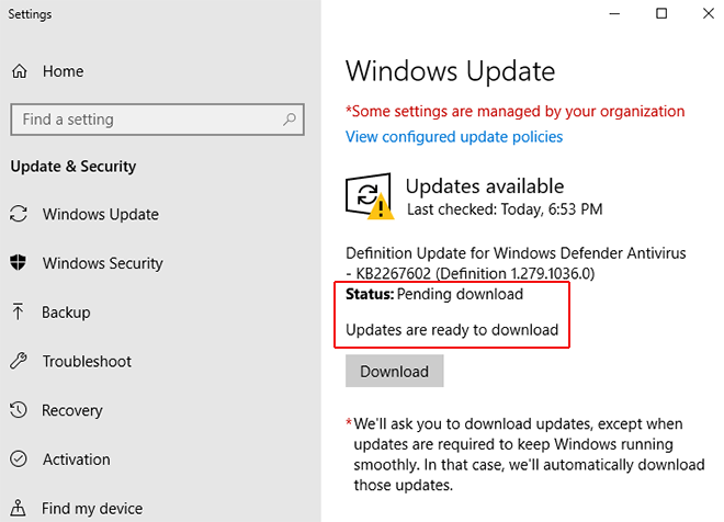 turn off auto updates on windows 10
