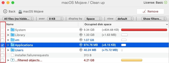 how to get rid of purgeable space mac