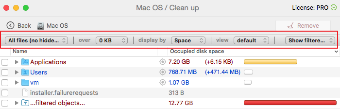 how to delete other storage mac