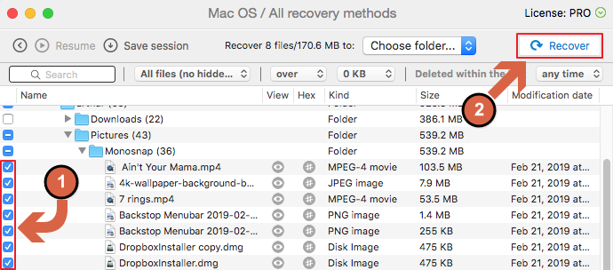 recover deleted Android photos from Mac computer