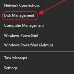 disk management tool to fix external hard drive win