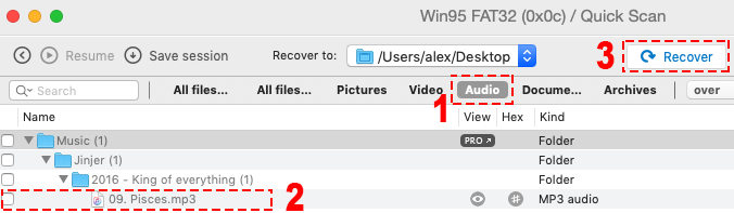 recover deleted music files from sd card