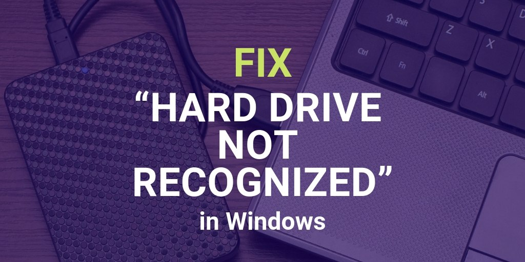 Why Is My Hard Drive Not Showing Up in Windows [Solved]