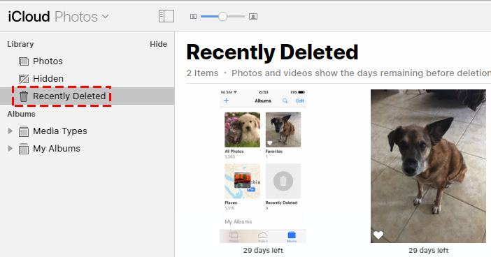 recover recently deleted photos from iphone for free
