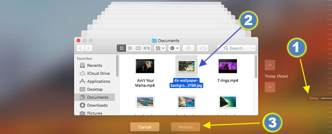 how to recover emptied trash on mac for free