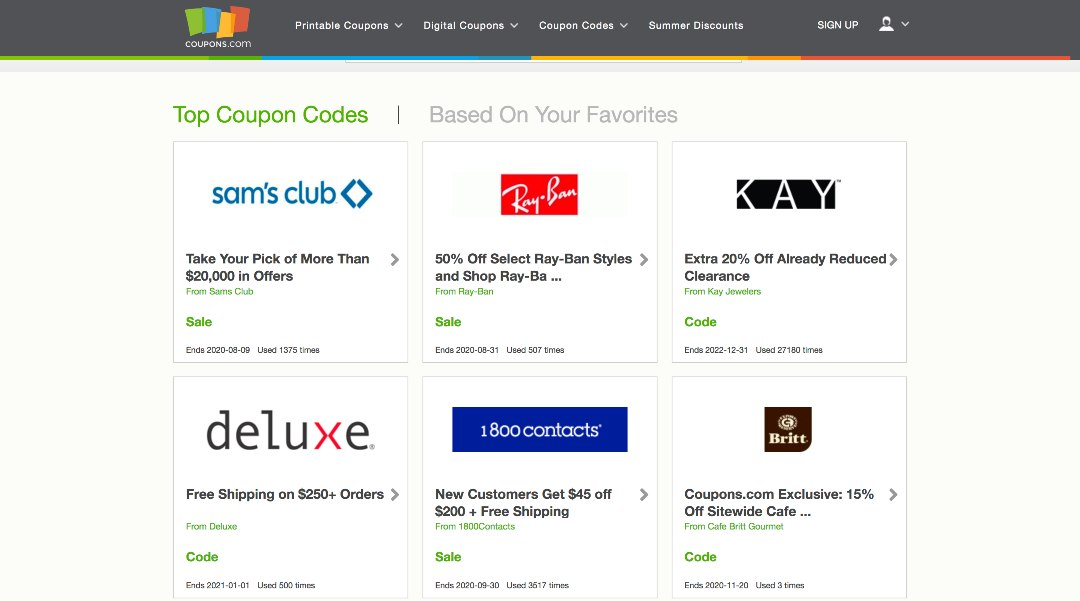 Top 10 Best Coupon Sites Apps In 2020 Save Up To 80