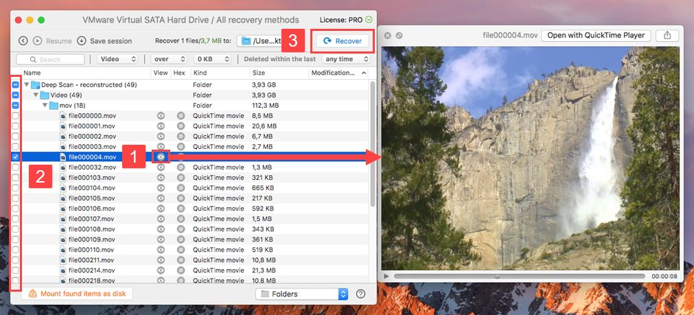 how to recover deleted video files mac