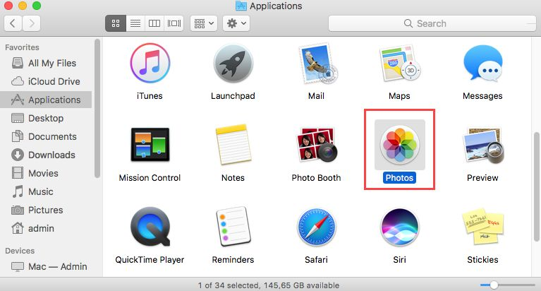 recover lost video mac from photos