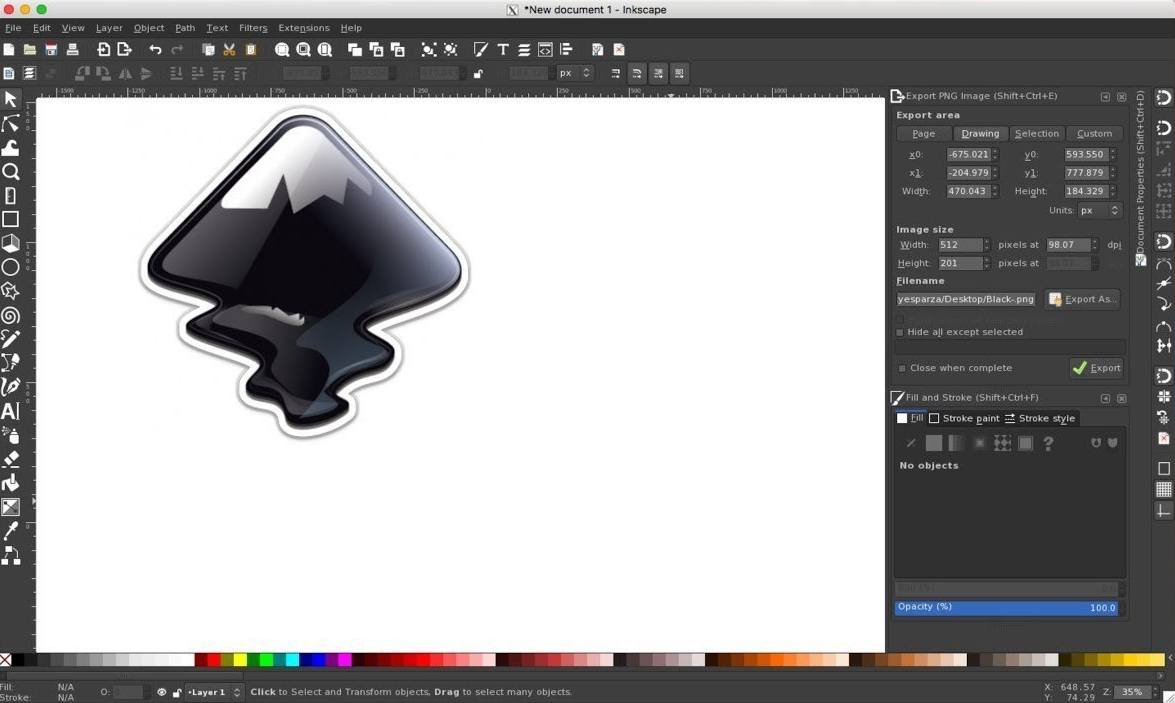 Inkscape pdf editor for Mac