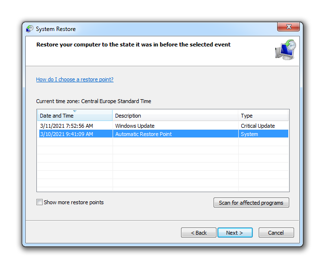 how to get back deleted files on windows 7