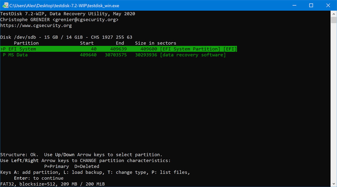 Testdisk free partition recovery for windows