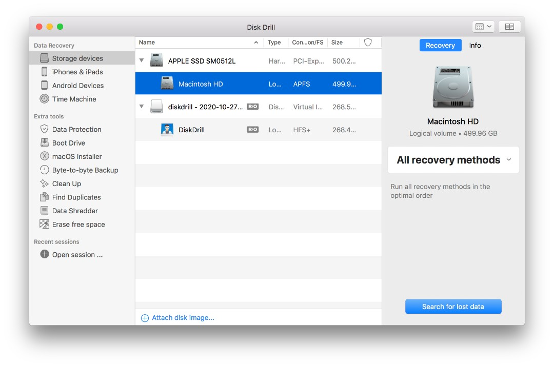 Recover Erased Hard Drive on Mac