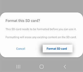 sd card not detected android