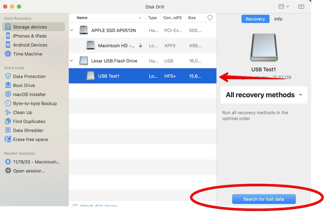 how to fix corrupted usb flash drive mac