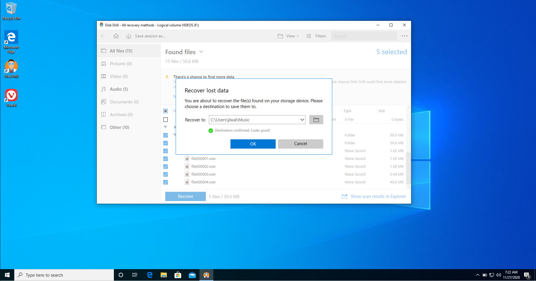 recover data from broken flash drive
