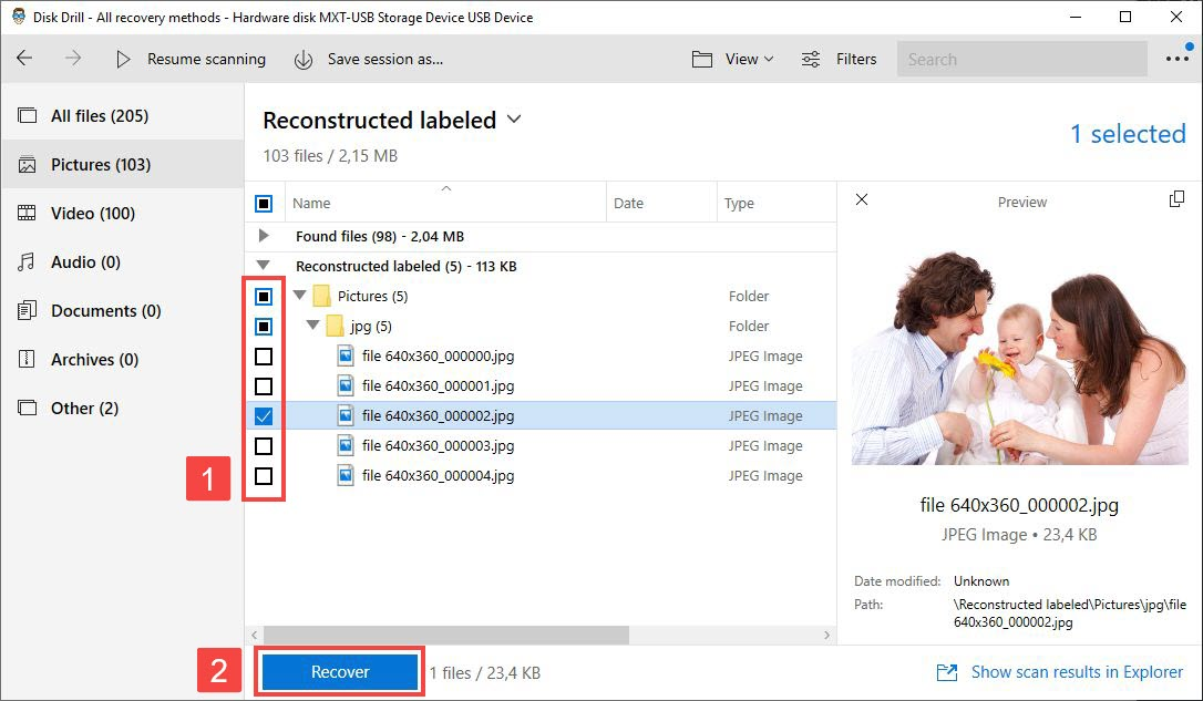 how to fix corrupted recycle bin with disk drill