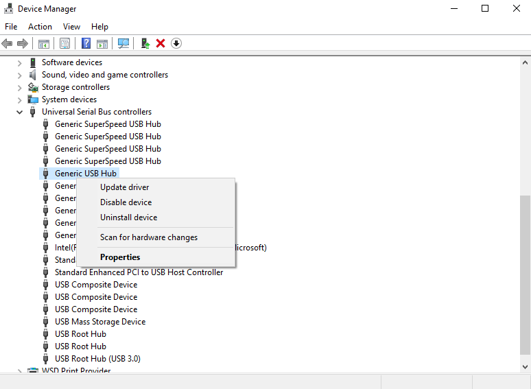 usb device not recognized windows 10 drivers reinstall
