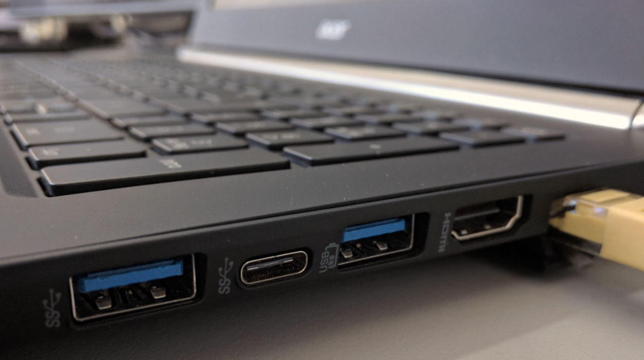 Try a Different USB Port