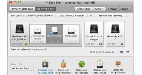 RAW recovery on Mac OS X